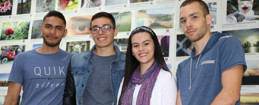 Estudiantes de la von Humboldt, en la final del concurso 'Case Competition' de McKinsey & Company