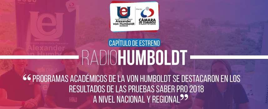 RadioHumboldt - Junio 5 de 2019 - Resultados Saber Pro