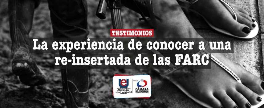 Testimonios: Un encuentro con una re-insertada de las FARC