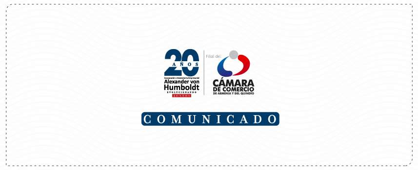 COMUNICADO DE RECTORÍA: Posición institucional frente a las jornadas de manifestación