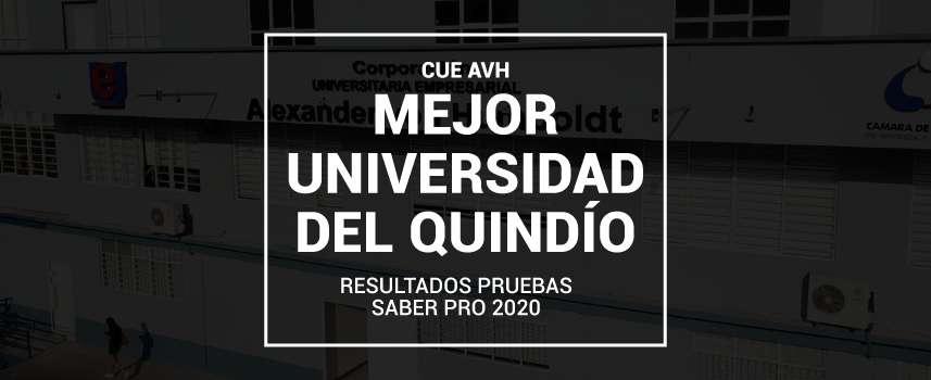 Universidad Alexander von Humboldt, la mejor del Quindío según pruebas Saber Pro