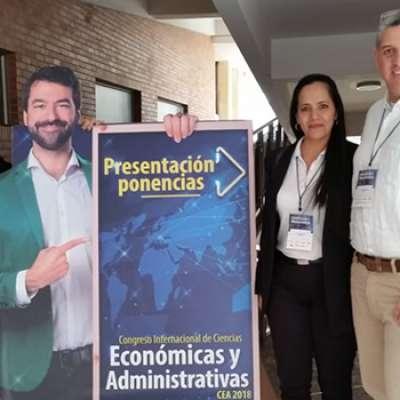 Administración de Empresas presente en congreso internacional de Ciencias Económicas y Administrativas