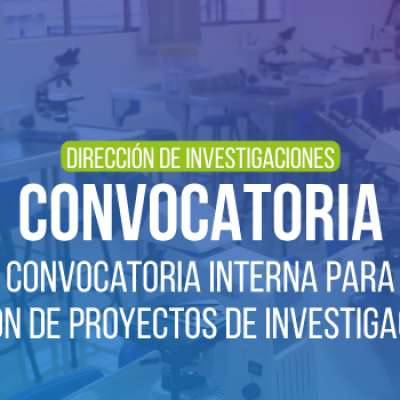 Convocatoria interna para financiación de proyectos de investigación - 2020