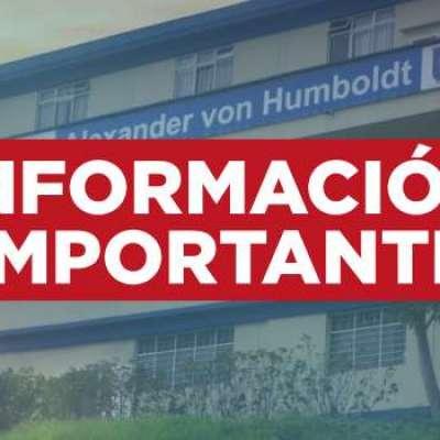 IMPORTANTE: Este viernes 11 de octubre no habrá atención en nuestras sedes