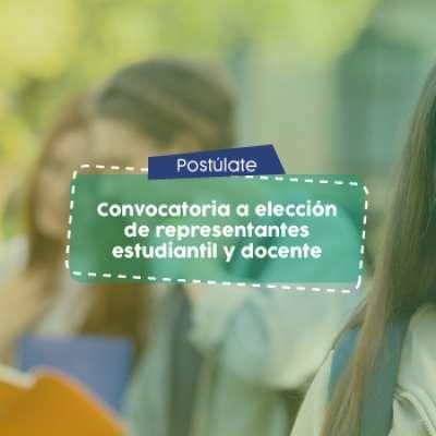 Secretaría General invita a estudiantes y docentes a postularse como representantes a los comités de facultad y curriculares